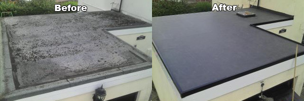 Awesome And The Rest Of US Flat Roofing Marker. Most People Refer To A Flat Roof As  A U201crubber Roofu201d.